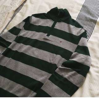 Hilfiger Quarter Zip Celtic