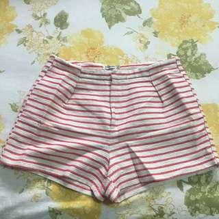 Stradivarius Striped Short Pants