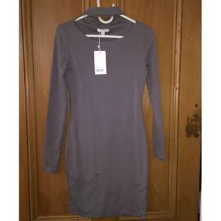 Kookai grey dress (Size 2)
