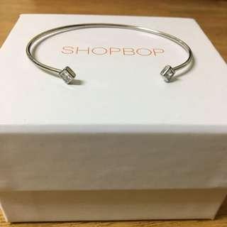 Shashi Sterling Silver Ava Cuff Bracelet