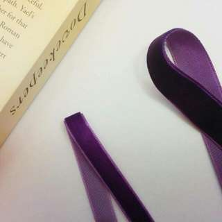 Handmade Dark Purple Velvet Chokers