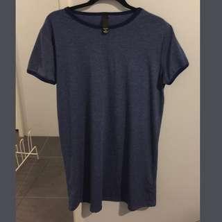 Navy Blue Tshirt Dress