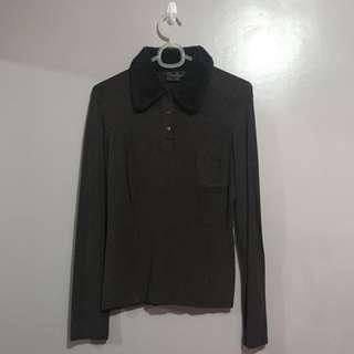 SALE Authentic Fendi Brown Long Sleeves