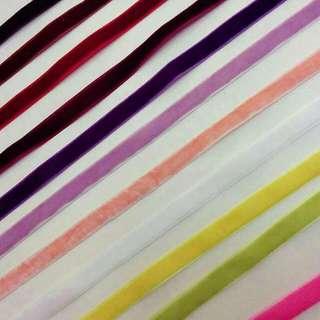 Handmade Assorted Colours Velvet Choker
