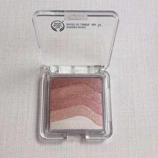 Body Shop Shimmer Waves - Blush