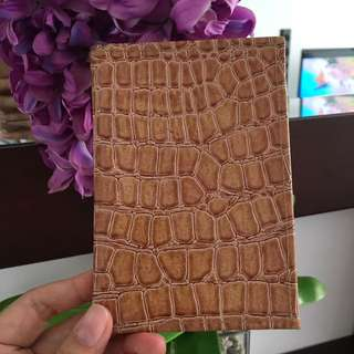 Croco Passport Case