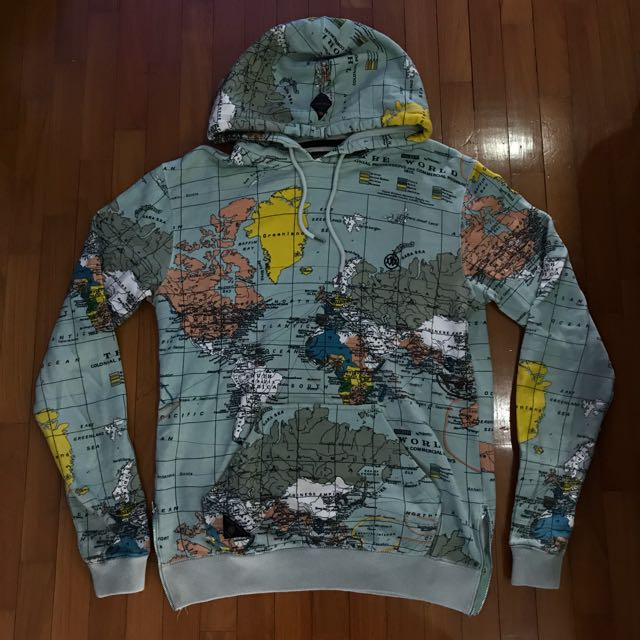 10deep world map hoodie mens fashion clothes on carousell photo photo photo photo photo gumiabroncs Choice Image