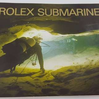 Original 2005 Rolex Submariner Manual Booklet Ref 594.56 Print 12.2005 English
