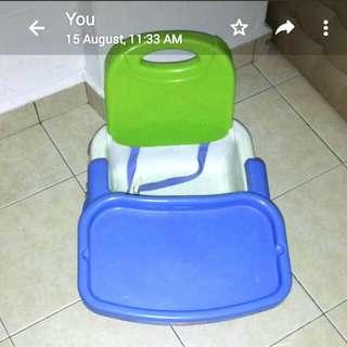 Rent/Sell  Kids eating chair~foldable
