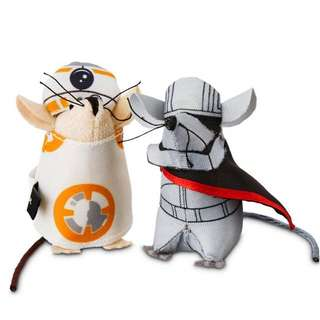 STAR WARS Partners Mice Pet Toys✨星際大戰組合老鼠貓玩具