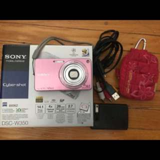Sony DSC-W350 Point And Shoot Digital Camera