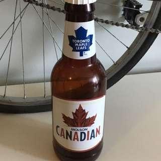 Molsen Canadian Beer coin Bank