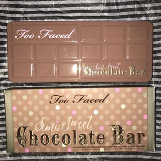Too Faced Semisweet Chocolate Bar Palette