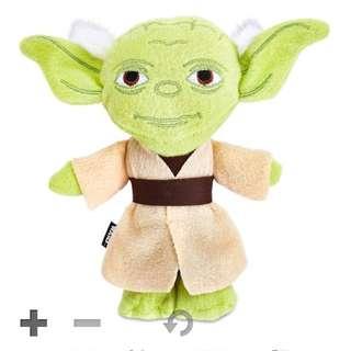 STAR WARS Yoda & Ewok Pet Toy✨星際大戰尤達依沃克人造型玩偶