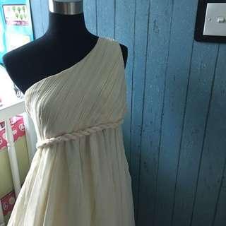超仙單肩伴娘裙、姊妹裙、小禮服