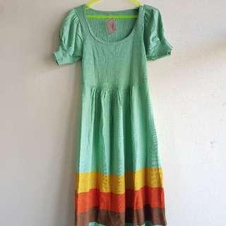 Midi Dress Wanita