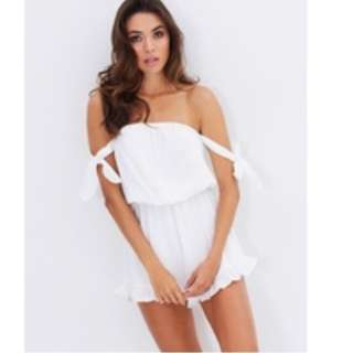 Atoms And Here Playsuit