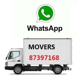 Cheap Lorry Mover/Disposal/Relocation From $30 - Whatsapp  87397168