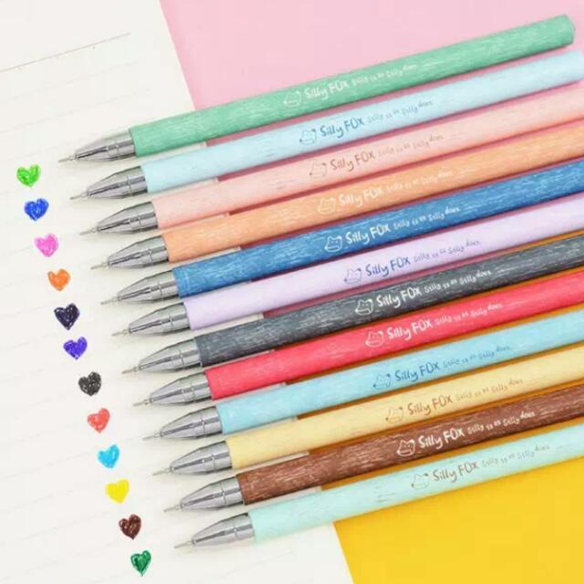 彩色中性筆多色筆記用筆12支/組