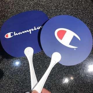 (全新)Champion 扇子