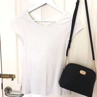 H&M basic white top