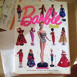 "Vintage Book ""The Collectable Barbie Doll"""