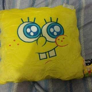 海綿寶寶得意表情四方cushion