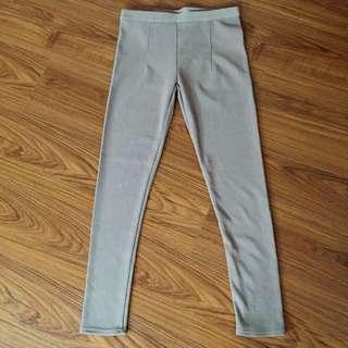 全新轉售 直紋彈性長褲