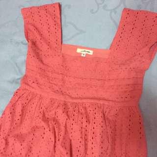 Dress model vintage pink salem