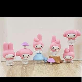 Sanrio My Melody Figurines Fob Charm