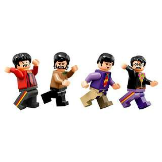 Lego 21306 Beatles Minifigures Only