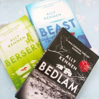 Berserk, Beast & Bedlam Books By Ally Kennen  💕