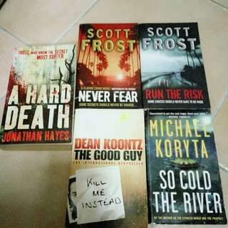 5 Crime Books