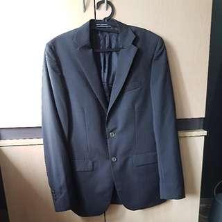 Massimo Dutti Charcoal Blazer Size 46/36