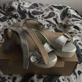 Holographic Sandals Size 40