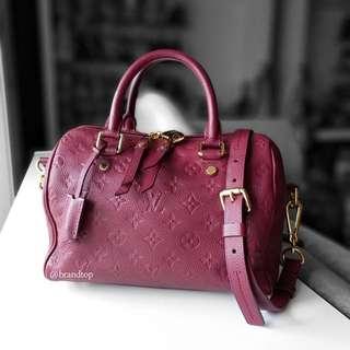 Authentic Louis Vuitton Empreinte Speedy 25
