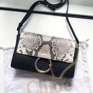 Chloe Faye Python Limited Edition