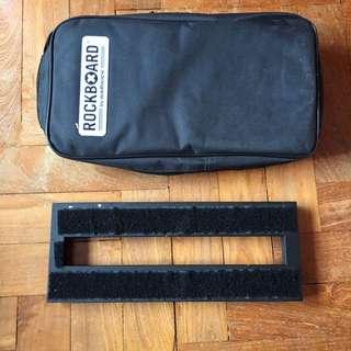 Rockboard Solo Guitar Pedal Board With Bag