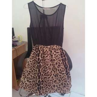 Chanira Leopard Dress Berrybenka