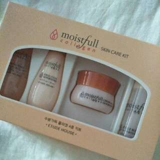 BNIP Etude House Moistfull Collagen Skincare Kit