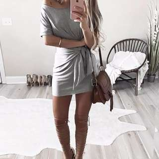 Cute Grey Vestidos <3