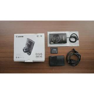Canon IXUS 285 HS Digital Pocket Camera With WIFI AND 20.2 MEGAPIXEL