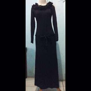Baju Dress Panjang