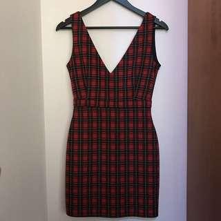 Stadivarius Vintage Dress (free ongkir)