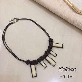 Kalung Fashion Murah Statement Necklace B107 B108