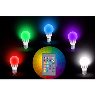 LED Colour Changing Bulb with Remote control