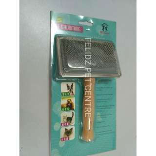 PET RELAX BRUSH FOR LONG AND SHORT HAIRED CATS AND DOGS