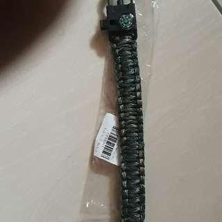 Paracord Survival Bracelet Wrist