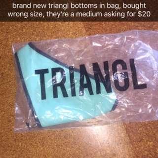 brand new triangl bikini bottoms