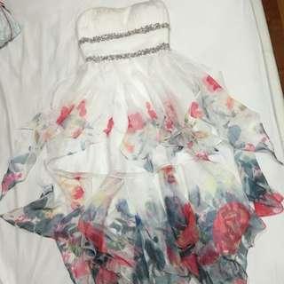 Formal Floral Dress (negotiable)